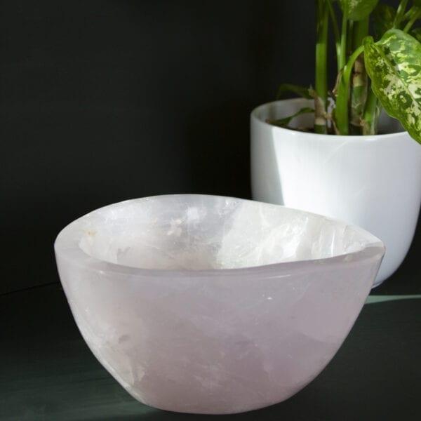 rozenkwarts schalen vakmanschap unieke design