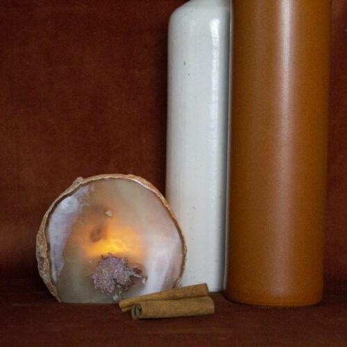 edelstenen sfeerverlichting agaat interieur functioneel