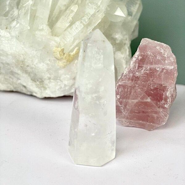 bergkristal punt heling energie zuivert boost energie