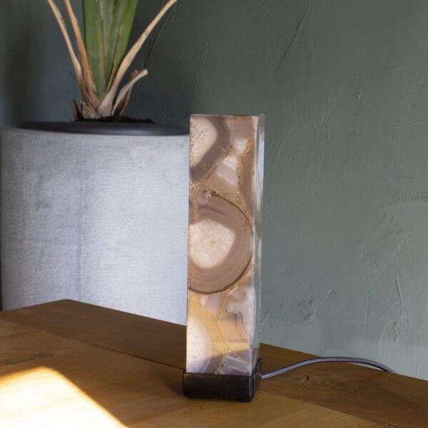 decoratiestukken functioneel sfeerverlichting agaat