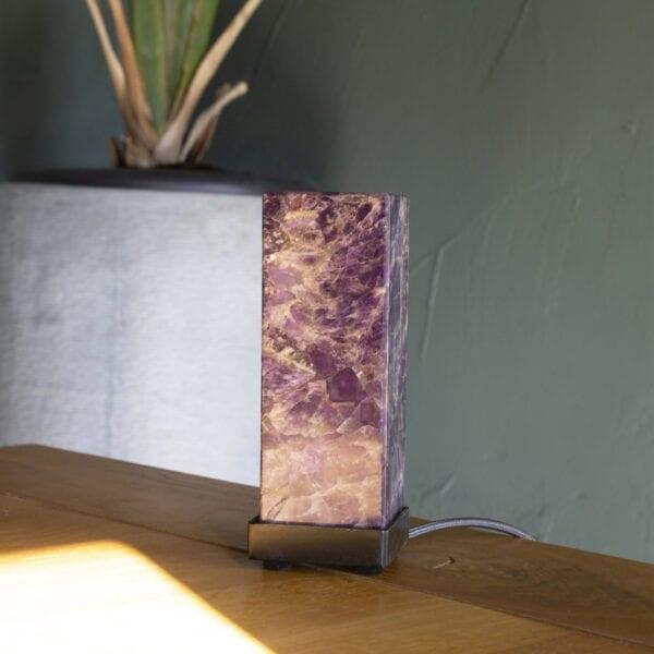 decoratiestukken functioneel sfeerverlichting amethist