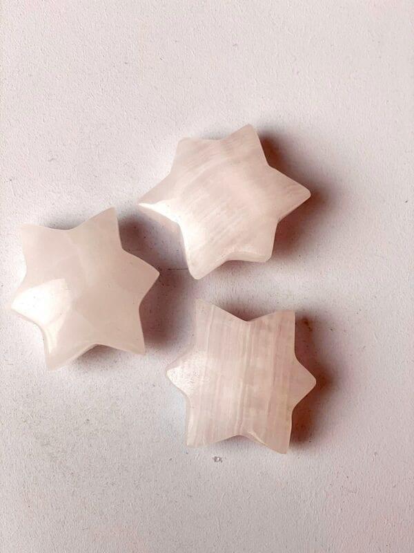 mangano calciet edelstenen gepolijst in stervorm cadeau
