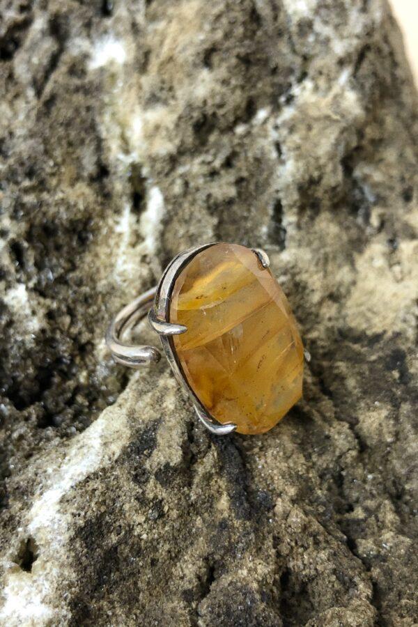 Golden Healer Ring 925 sterling zilver sieraad