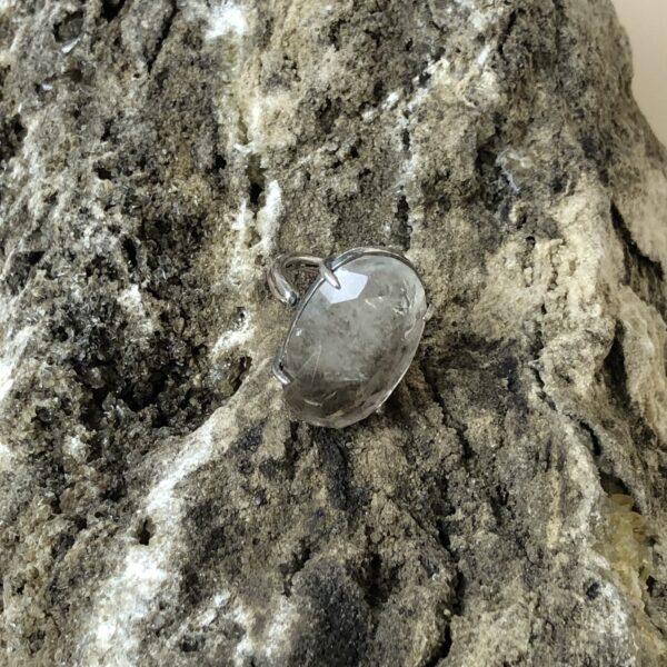 Rookkwarts Ring 925 sterling zilver